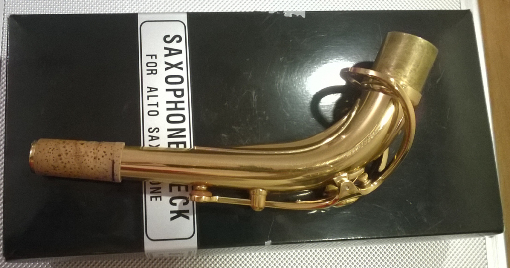 Yamaha Custom V1 Alto Saxophone Neck