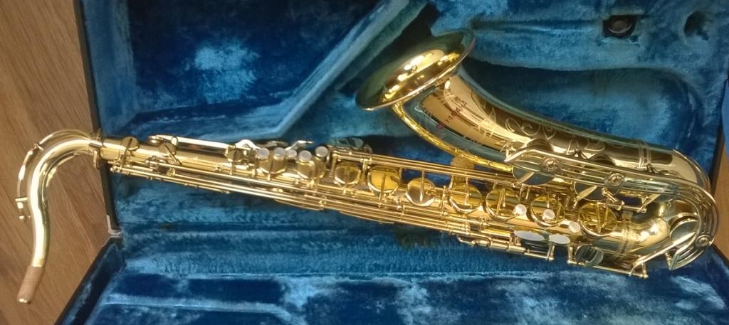Yamaha YTS-61 Tenor Saxophone (Purple logo) - II
