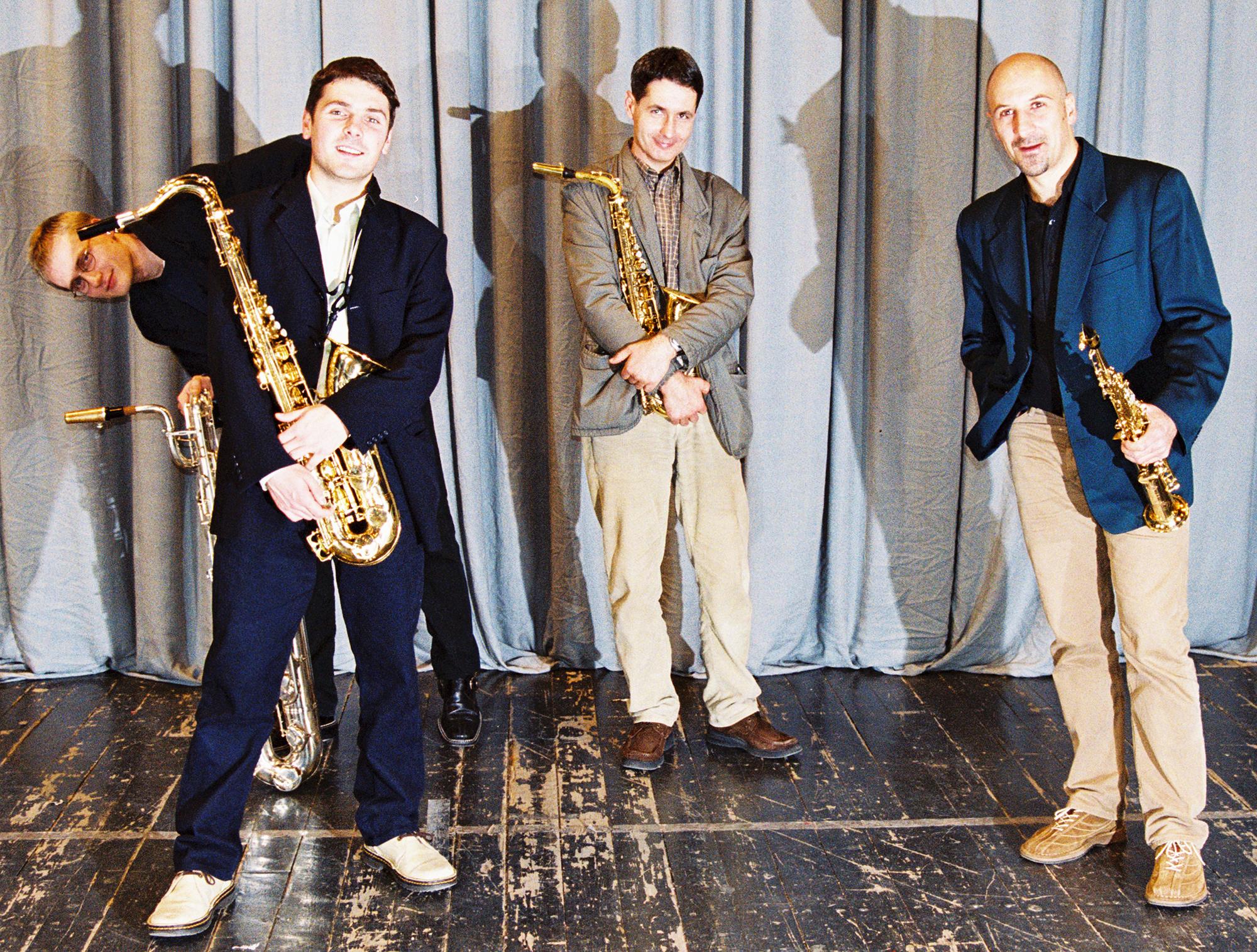 Donna Lee Saxophone Quartet