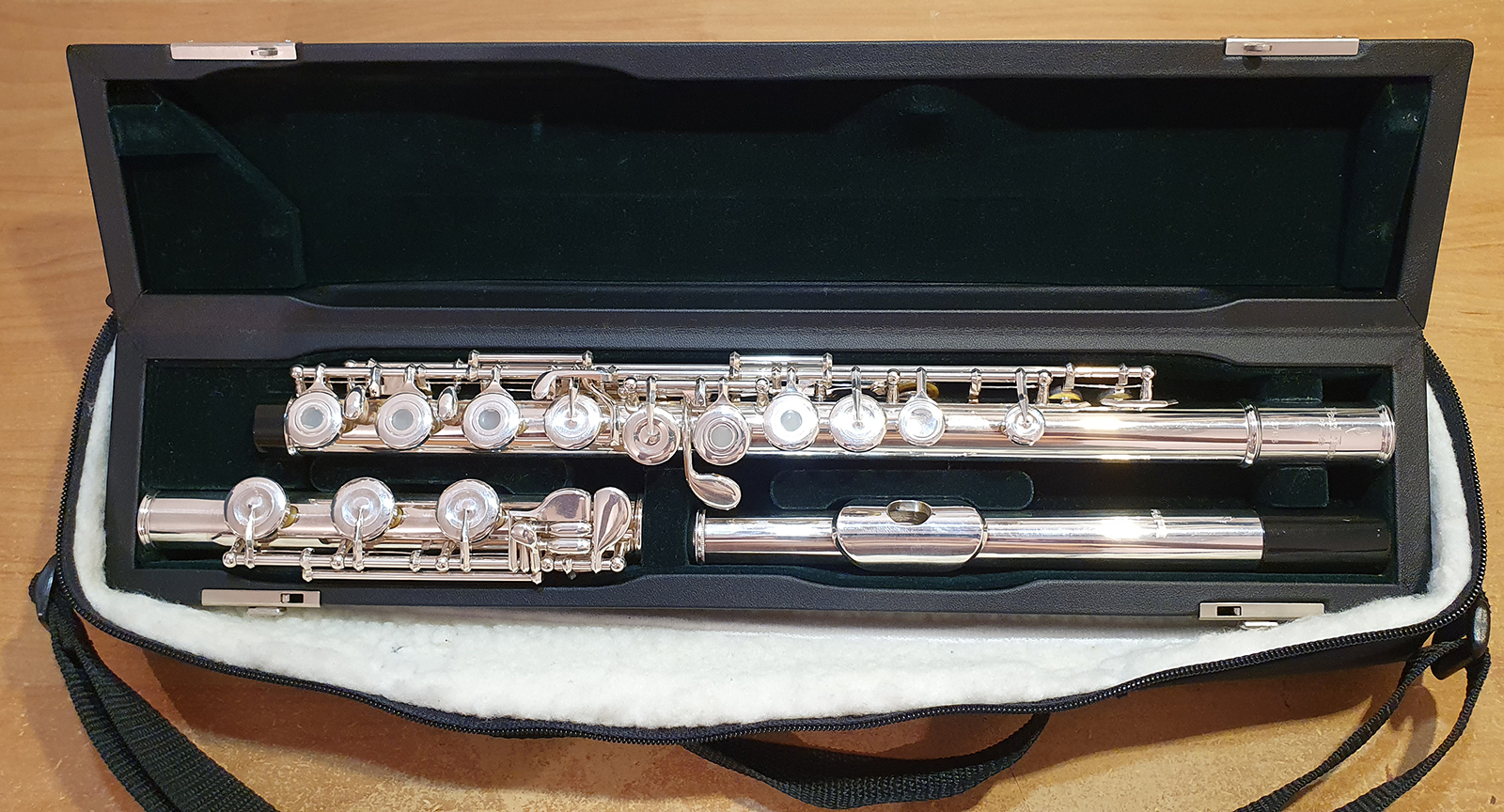 Pearl Quantz 665 RBE Flute