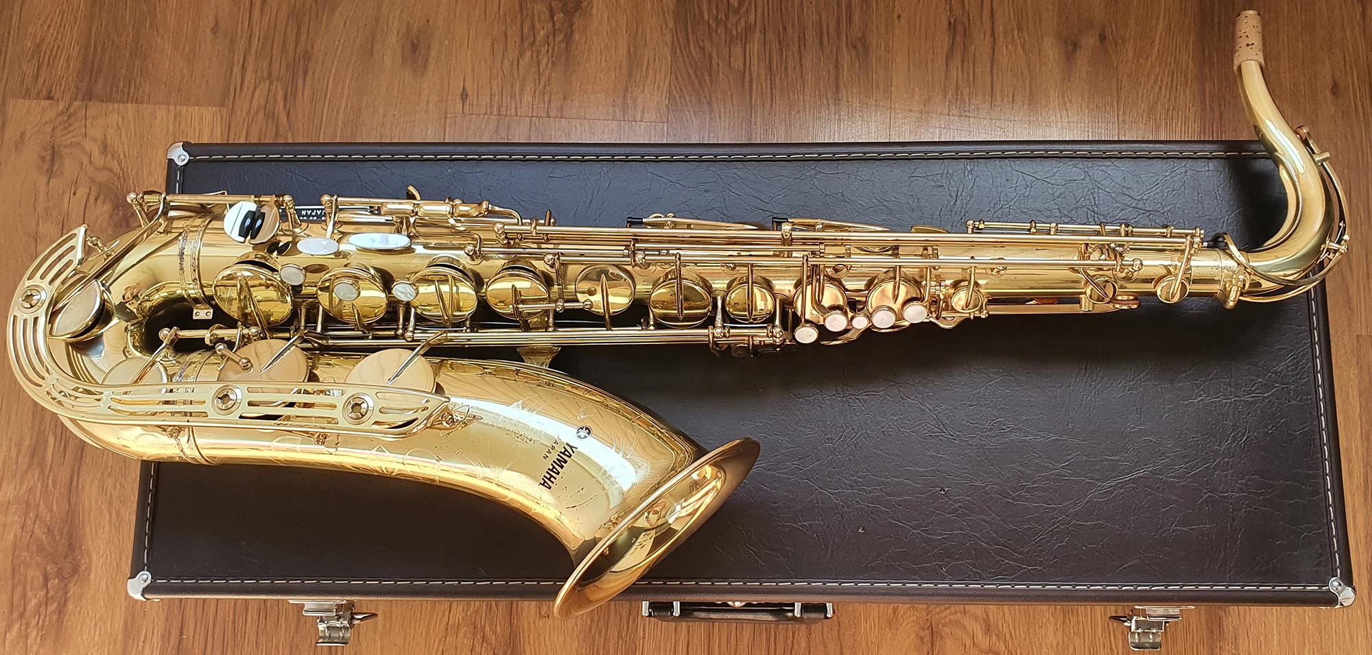 Yamaha YTS-61 Tenor Saxophone (Purple Logo) – (5)