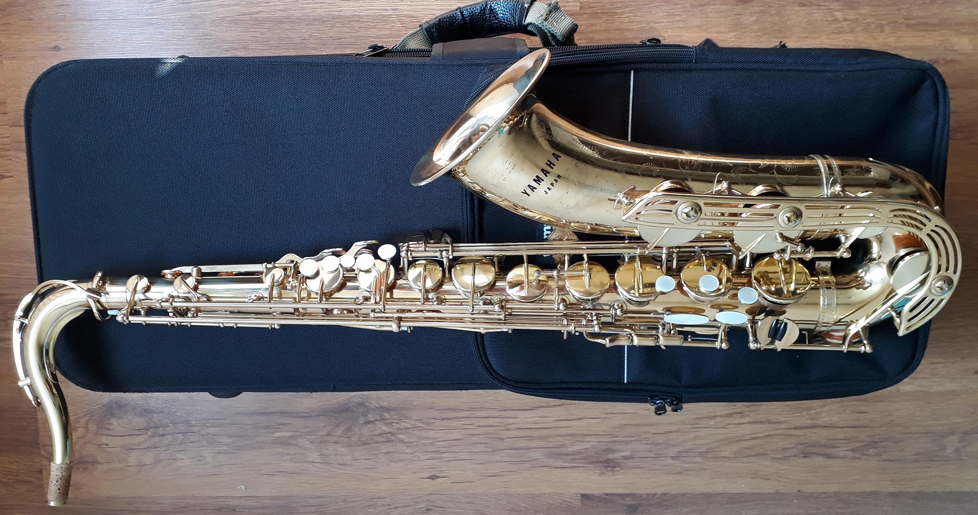 Yamaha YTS-61 Tenor Saxophone (Purple logo) - (4)