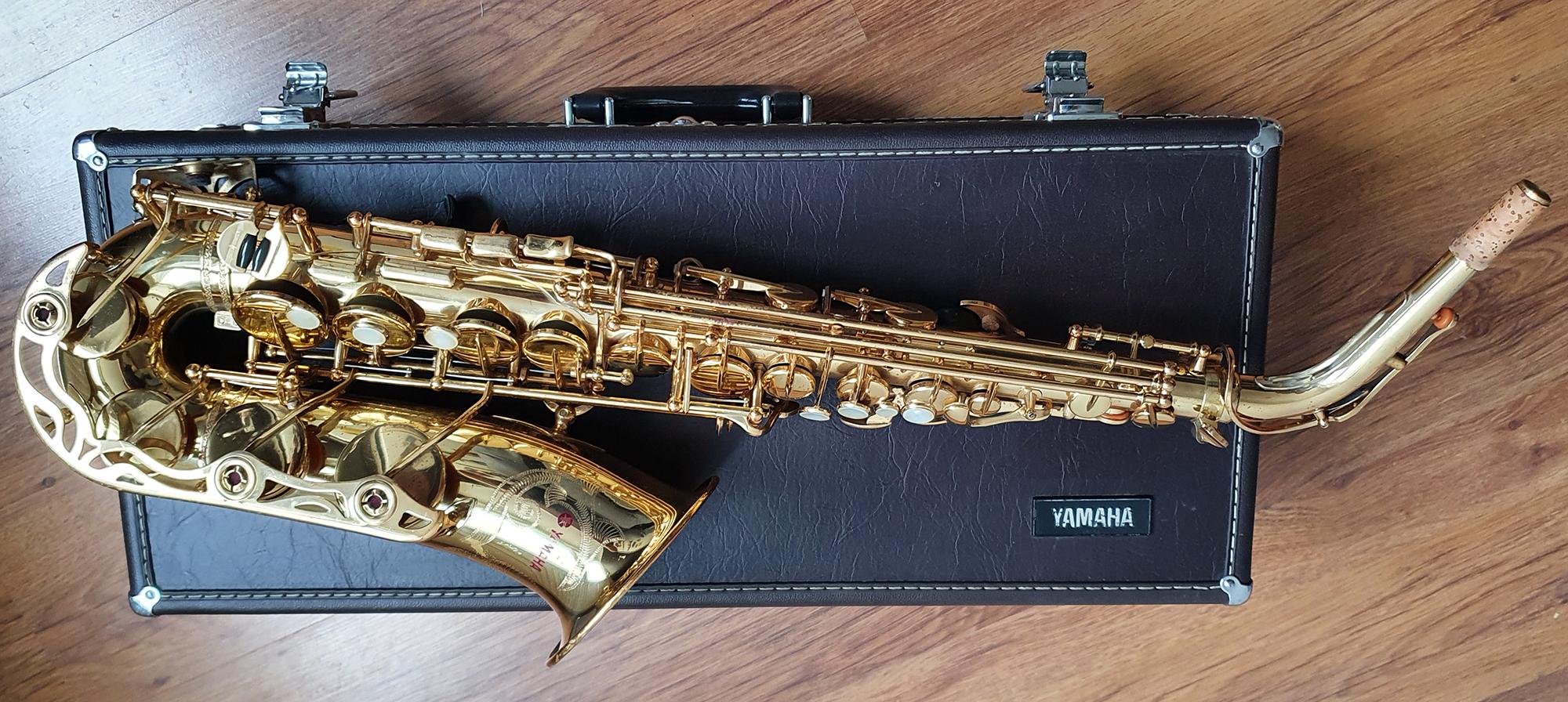 Yamaha YAS-62 Alto Saxophone (Purple Logo) – (4)
