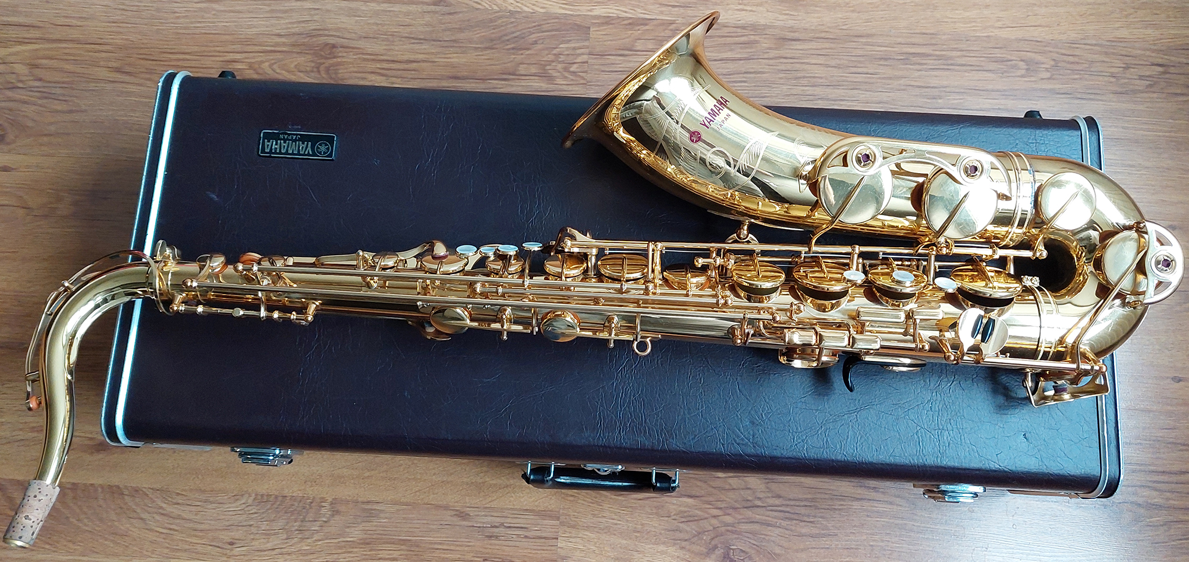 Yamaha YTS-62 Tenor Saxophone (Purple Logo) - (4)